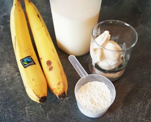 Banana Milkshake Zutaten