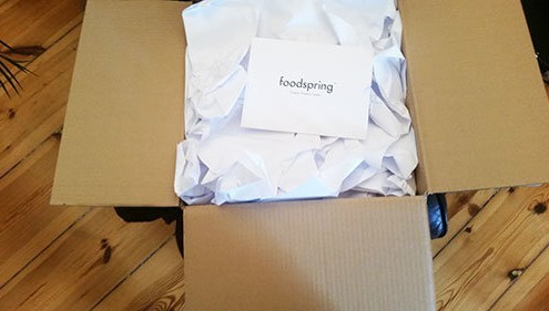 foodspring Paket