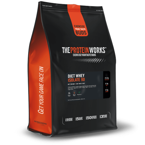 The Protein Works Diet Whey Isolate 90