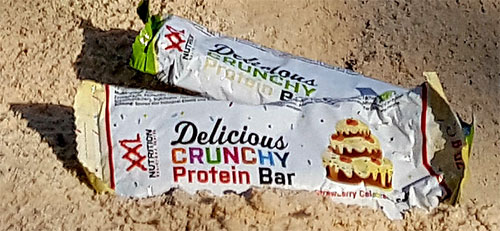 Delicious Crunchy Protein Bar von XXL Nutrition