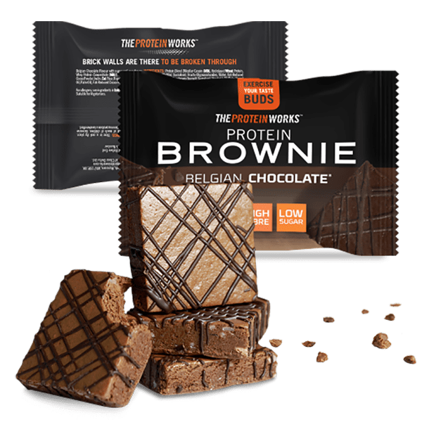 The Protein Works Protein Brownies