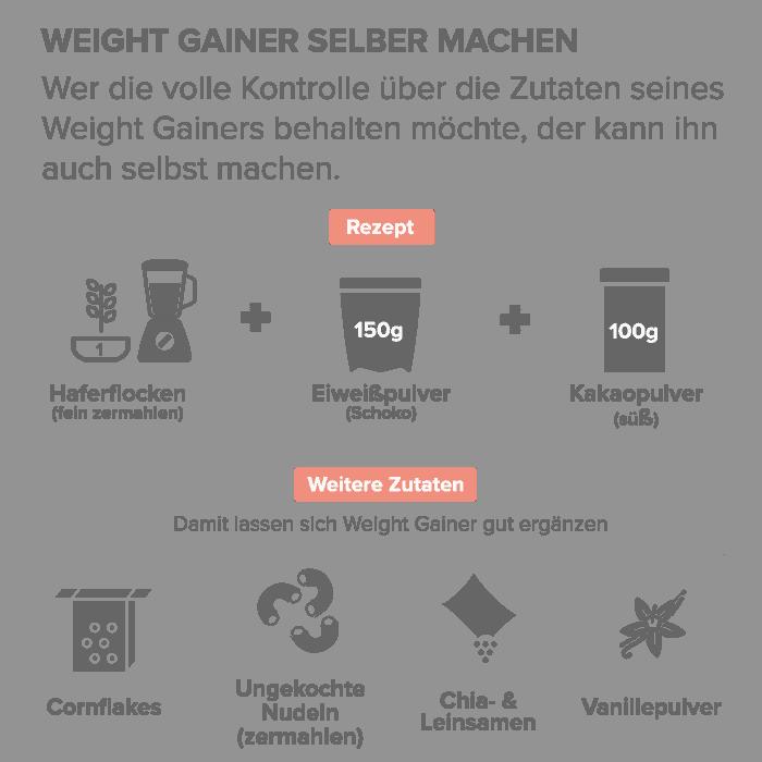 Weight Gainer selber machen