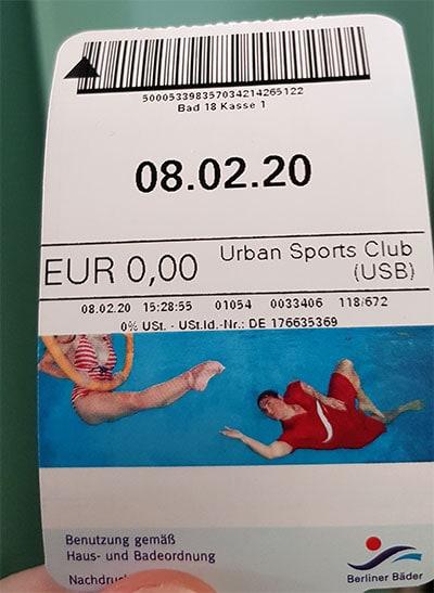Berliner Bäder für 0,00 Euro