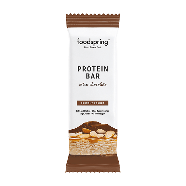 foodspring Protein Bar Extra Chocolate