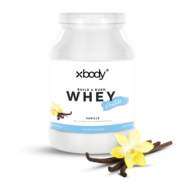XBODY Build and Burn Whey Protein