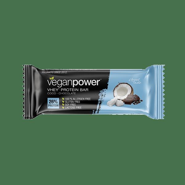 veganpower Vhey Protein Bar