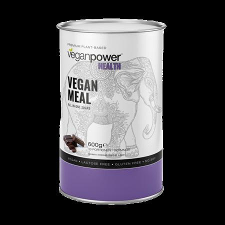 veganpower vegan meal